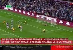 Esta vez no pudo: 'Dibu' Martínez recibió tres goles en pocos minutos y Aston Villa perdió   VIDEO