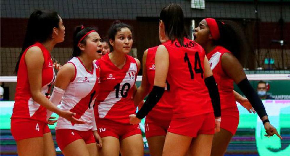 Selección peruana de vóley sigue en el Mundial Sub-18: el equipo nacional clasificó a los octavos de final