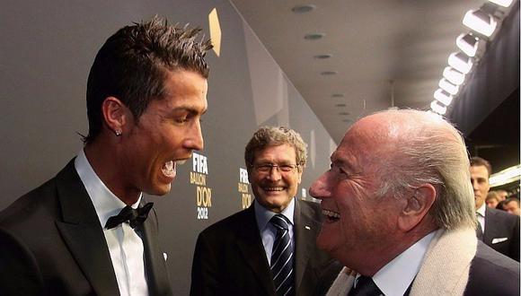 Cristiano Ronaldo: Joseph Blatter lo defiende y habla fuerte de Federer