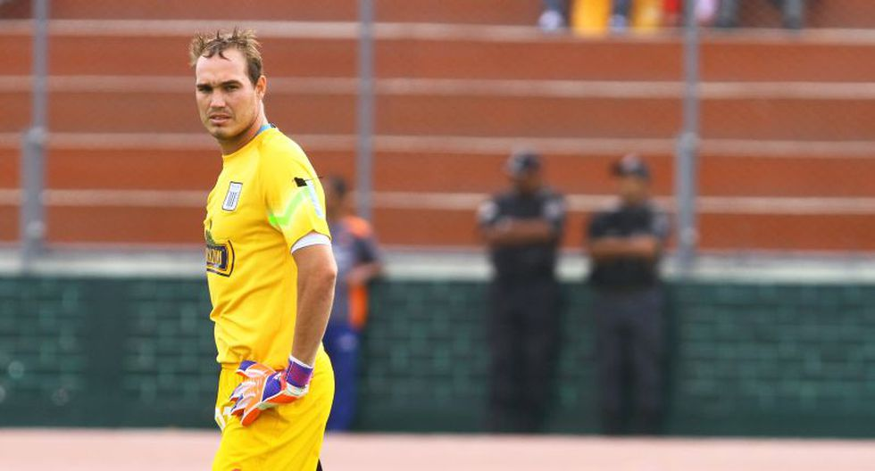 Alianza Lima: George Forsyth se sintió durante la práctica y es duda ante César Vallejo