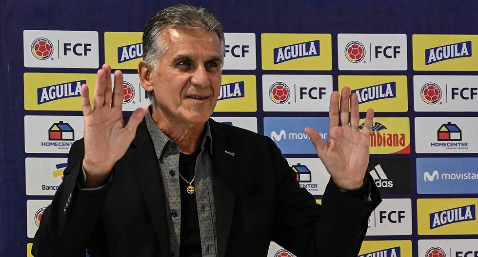 Carlos Queiroz | Portugués | Entrenador de Colombia desde febrero del 2019. (Foto: AFP)