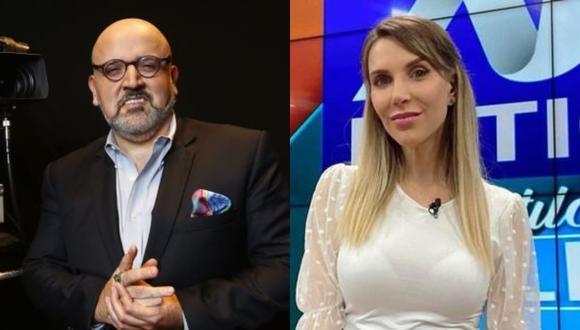 El conductor de Willax Televisión criticó a Juliana Oxenford y la calificó de 'ponerse la camiseta de Perú Libre' en su posición antifujimorista.
