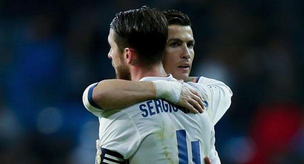 """Sergio Ramos contra Cristiano Ronaldo: """"Que haga lo que quiera"""" [VIDEO]"""