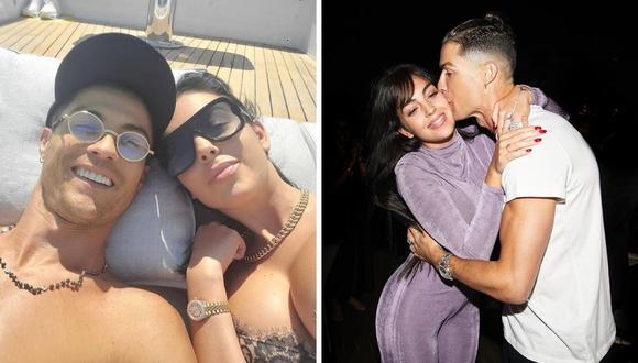 Georgina Rodríguez y Cristiano Ronaldo despertaron las alarmas de una presunta boda por la misma fotografía que ambos compartieron en sus redes sociales. (Instagram: @georginagio)