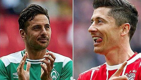 Robert Lewandowski superó el récord de Claudio Pizarro en la Bundesliga