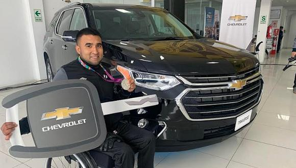Lima 2019: Para atleta, Jorge Arcella, ganó lujosa camioneta tras obtener una medalla de plata | FOTO