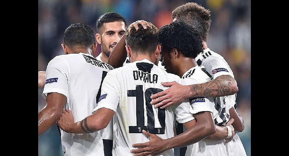 Juventus líder de la serie A italiana y enfrentará al Udinese
