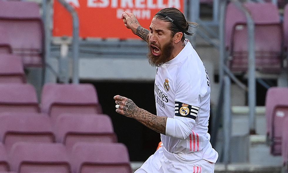 Gol de penal de Sergio Ramos: Real Madrid 2-1 Barcelona por LaLiga