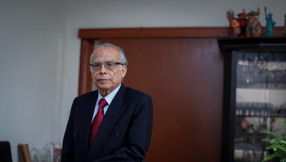Aníbal Torres, actual ministro de Justicia y Derechos Humanos. (Foto: Hugo Pérez)