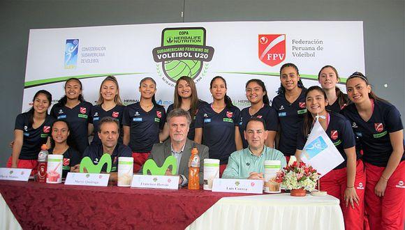 Perú buscará un cupo al Mundial de vóley sub-20