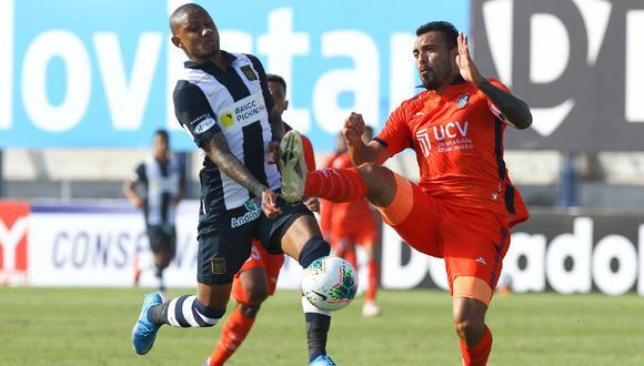 Leandro Fleitas, defensa de César Vallejo, habló de Arley Rodríguez, jugador de Alianza Lima, con quien tuvo un intercambio de palabras.(Foto: Liga 1)
