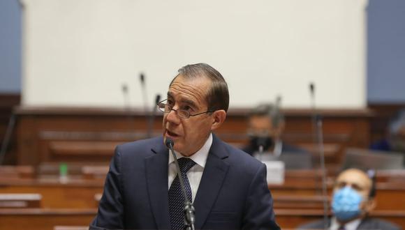 Este noche el congreso de la Rapública le otorgó el voto de confianza al gabinete que preside Walter Martos. La medida tuvo 115 a favor. (Foto: PCM)