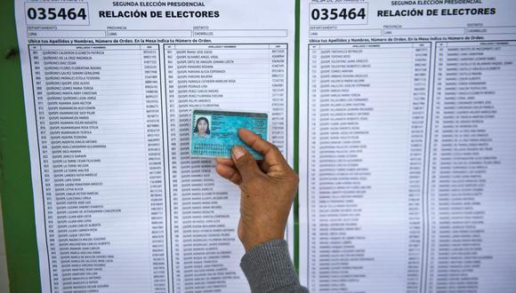 Consulta aquí si no llegó a tu correo el cambio de votación para sufragar en la Elecciones Presidenciales 2021. (Foto: Ernesto Benavides / AFP)