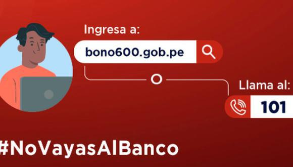 El Bono 600 soles tiene como objetivo ayudar a más de 4,2 millones de hogares. (Foto: Andina)
