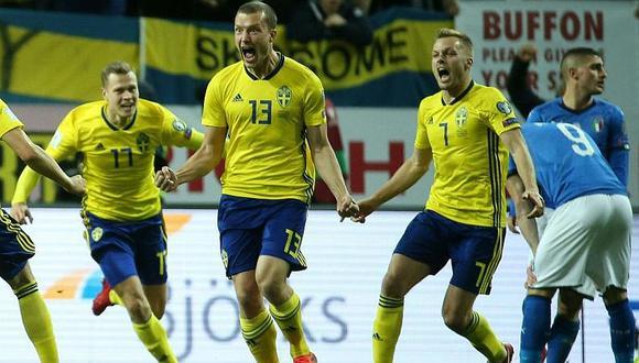 Italia perdió 1-0 ante Suecia y peligra su pase a Rusia 2018 [VIDEO]