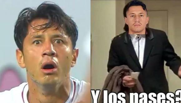 Gianluca Lapadula fue titular en el choque donde Perú cayó ante Argentina y su participación ha dejado varios memes creados por los hinchas en las redes sociales