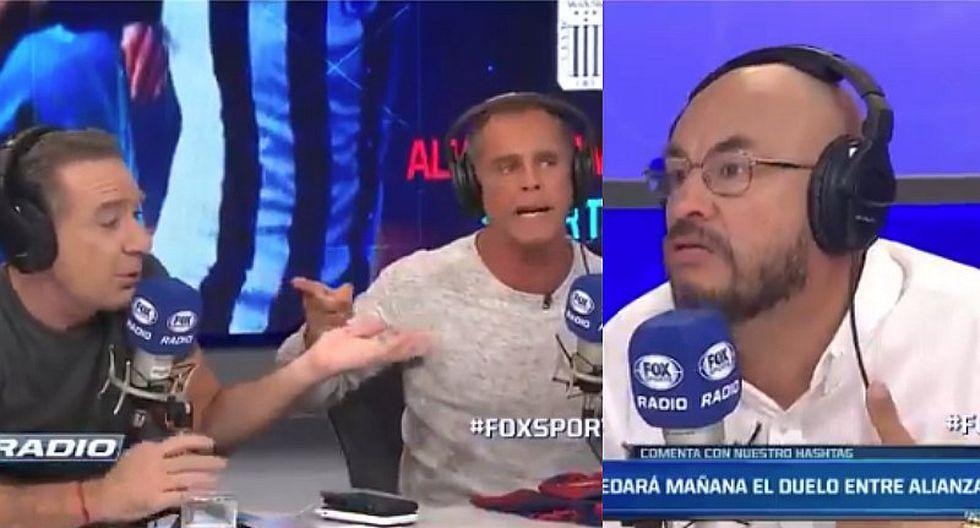 Julinho se enfrenta a sus compañeros por defender a Cristal | VIDEO