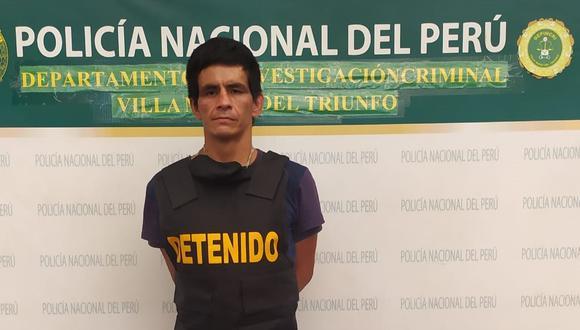 Marco Antonio Miranda admitió su delito ante la Policía y adujo que lo hizo porque sus hermanos lo botaron de su casa. (PNP)