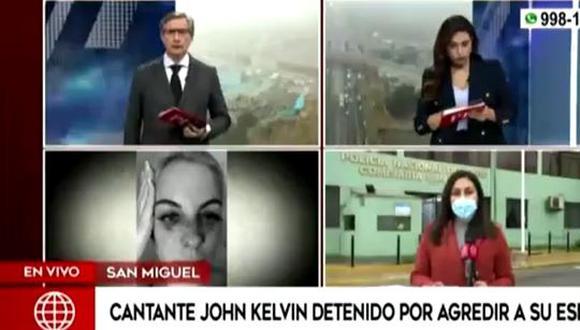 """Federico Salazar sobre agresión de John Kelvin a Dalia Durán: """"Uno ve su rostro y se pregunta ¿autolesionado?"""". (Foto: captura de video)"""