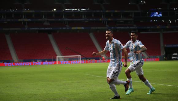 Argentina derrotó 1-0 a Uruguay con gol de Guido Rodríguez.