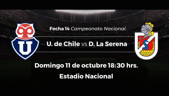 Universidad de Chile vs. La Serena: chocan por el Campeonato Nacional de Chile