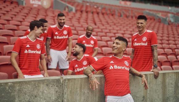 Paolo Guerrero será uno de los peruanos que disputará la Copa Libertadores 2021. (Foto: Internacional de Porto Alegre)