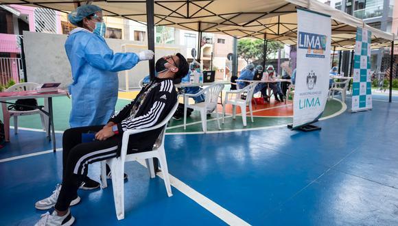 Campaña de prevención y descarte de COVID-19 se realizará mañana en El Agustino y el viernes en Los Olivos. (Foto:Municipalidad de Lima)