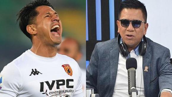 El reciente convocado por Ricardo Gareca anotó en el Benevento vs. Hellas Verona y el periodista se emocionó en sus redes sociales