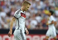 Le dice 'No' a la Selección de Alemania: Reus no jugará la Eurocopa