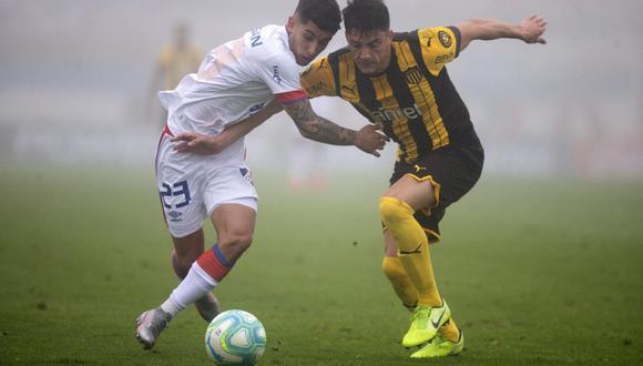 Sigue el partido entre Peñarol y Nacional por la fecha 4 del Torneo Clausura de Uruguay.   Foto: AP