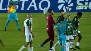 Brasil: Futbolistas de Guaraní protagonizan gresca y son expulsados