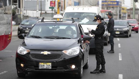 Este domingo hay restricción vehicular en Lima y demás regiones del país, conoce cómo sacar tu permiso si tienes que hacer actividades esenciales