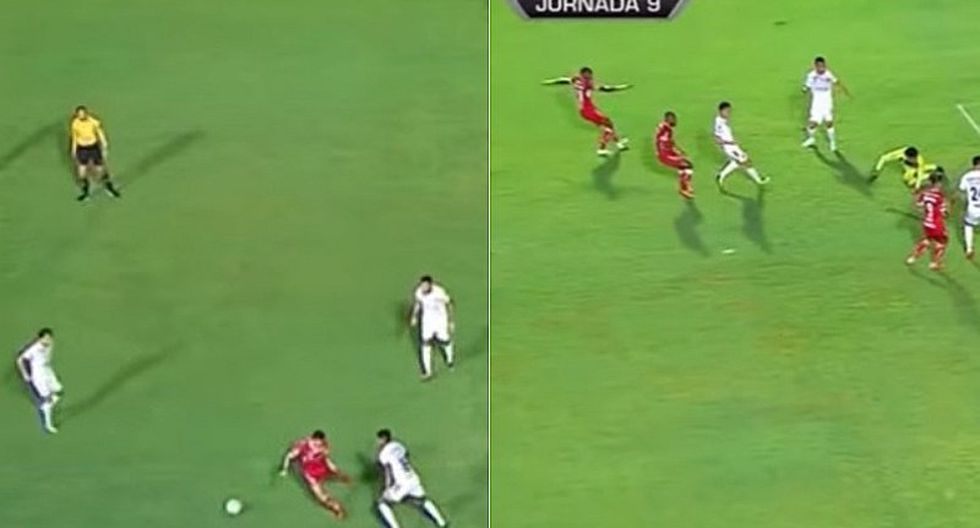 El error de Wilder Cartagena que le costó gol a Veracruz en la Liga MX