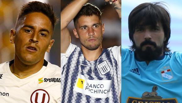 Alianza Lima, Universitario de Deportes y Sporting Cristal son los 3 equipos que luchan fecha a fecha por el título del Torneo Clausura