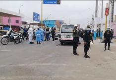 Callao: Asesinan de tres balazos en la cabeza a un pasajero dentro de una combi