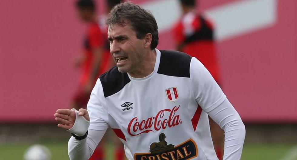 Nestor Bonillo habló del entrenamiento de los jugadores de la selección peruana