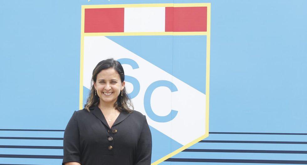 Romina Antoniazzi nueva jefa de prensa de Sporting Cristal