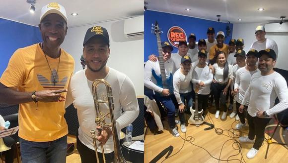 Luis 'Cuto' Guadalupe estrena orquesta de salsa. (Foto: Instagram @cutoguadalupe16)