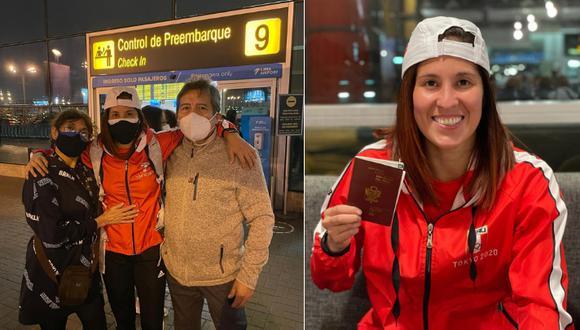 Karateka viajó a Japón para representar a Perú en los JJOO. Foto: Facebook Alexandra Grande