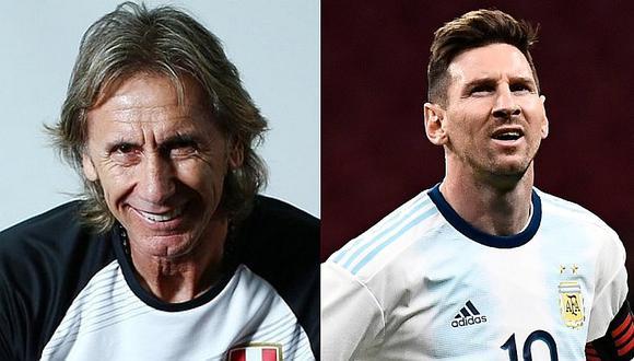 """Ricardo Gareca se pronunció sobre la acusación de """"corrupción"""" de Lionel Messi hacia Conmebol"""