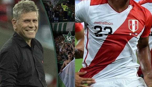 Paulo Autuori a punto de dirigir a mundialista de la Selección peruana