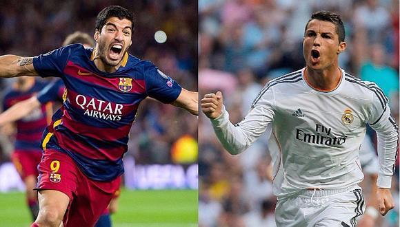 Luis Suárez y Cristiano Ronaldo tendrán duelo fuera de las canchas