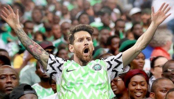 Argentina es víctima de memes tras triunfo de Nigeria sobre Islandia
