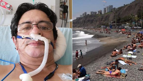 Médico muere por COVID-19 y hermano culpa a los que viajaron por Semana Santa (Foto: Twitter).