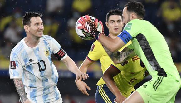 Argentina tenía todo para llevarse un punto de Barranquilla, pero la selección cafetera igualó el partido en los descuentos  (Foto: Reuters)