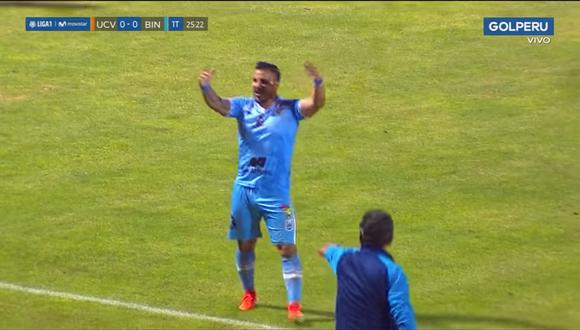 Juan Pablo Vergara anotó golazo de tiro libre en el Mansiche a la César Vallejo | VIDEO
