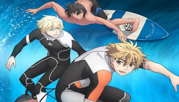 Entérate cómo ver el episodio estreno del nuevo anime WAVE!! -Let's go surfing-.
