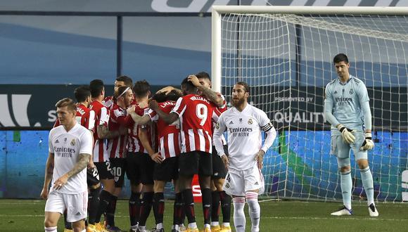 Real Madrid enfrentó al Athletic Bilbao por la semifinal de la Supercopa de España