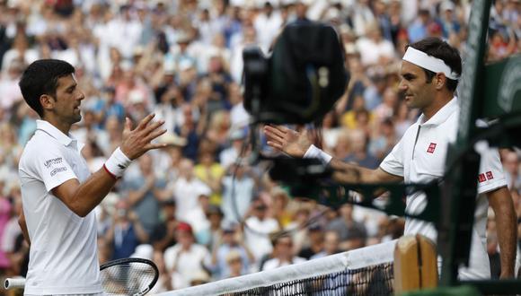 Federer y Djokovic han ganado trece títulos del Abierto de Australia entre los dos. (Foto: AFP)