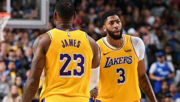 Lakers vs. Heat EN VIVO ONLINE vía NBA TV con LeBron James por la NBA. (Foto: AFP)